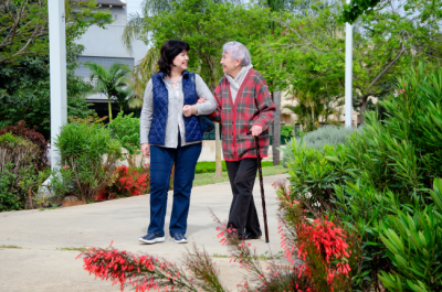 When it comes to communicating with someone with Dementia or Alzheimer's, know that repeating things will help them communicate.