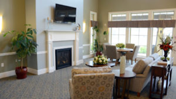 Indoor Common Areas Thrive - Memory Care, Louisville, KY