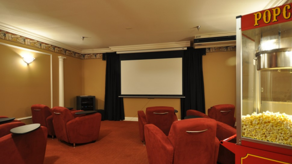 Onsite Movie Theater Magnolia Springs East - Assisted Living, Louisville, KY