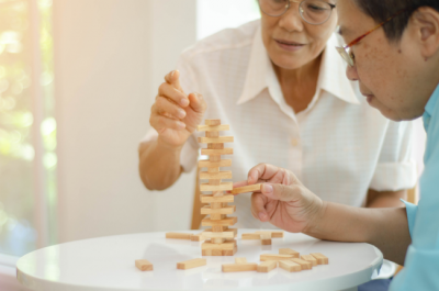 Using Dementia activities to engage with your loved one is a great way to bond and communicate.