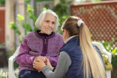 These ten tips can help you communicate and handle someone who is suffering from dementia anger and aggression.