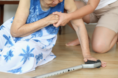 Reducing elderly fall risks can reduce the change of dangerous falls.