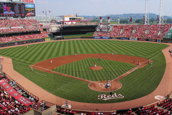 Attending a game at the Great American Ball Park is one of the best activites for seniors who love sports.