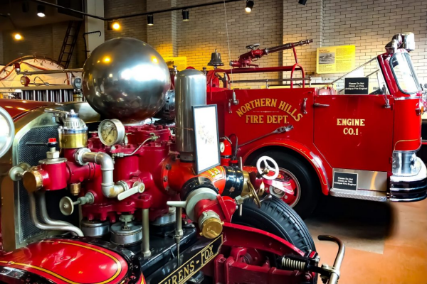 If you are looking for indoor activities for seniors, the Cincinnati Fire Museum is a great option.