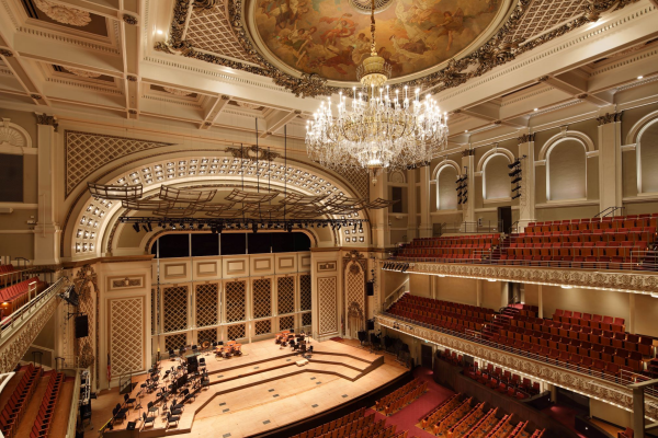 The Cincinnati Music Hall is one of the great activities for seniors who enjoy classical concerts.