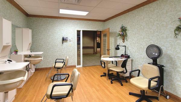 Hair salon at Barrington of Oakley in Cincinnati, OH